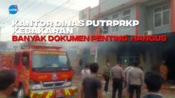 Apa Penyebab Kebakaran Kantor Dinas PU?