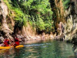 Body Rafting Batu Lumpang Garden, Panorama Eksotis Di Pangandaran